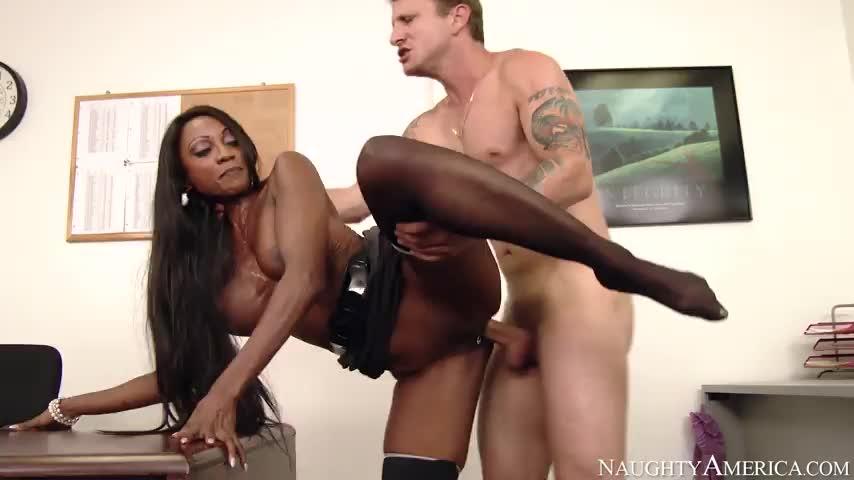 Ebony Black Fuck Homemade